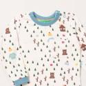 Μπλουζάκι μακρυμάνικο με σχέδια του δάσους - Little Green Radicals
