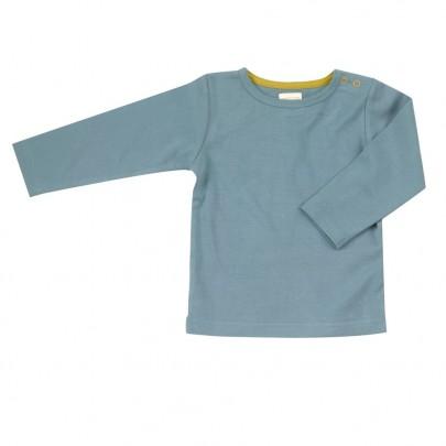 Μακρυμάνικο μπλουζάκι στο χρώμα της μέντας από οργανικό βαμβάκι- Pigeon Organics