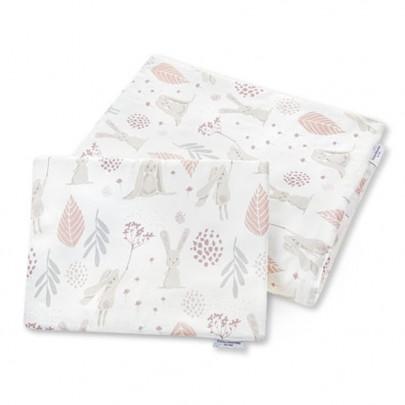 Σετ παπλωματάκι και μαξιλαράκι με σχέδιο λαγουδάκια 100 x 135 εκ- Color Stories