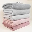 Ροζ βρεφική πετσετούλα με κουκούλα με σχέδιο ελαφάκια 70 x 125εκ - Color Stories