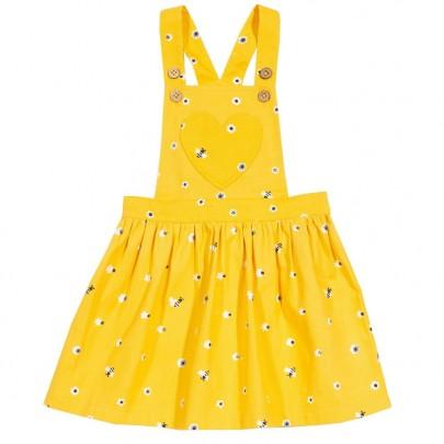 Κίτρινο φορεματάκι με μελισσούλες και καρδούλα - Kite