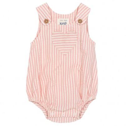 Ολόσωμο ροζ ριγέ φορμάκι - Kite