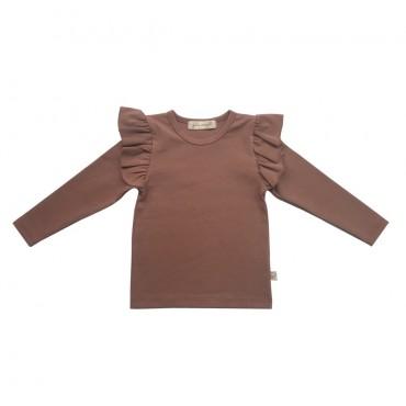 Σκούρο Ροζ μπλουζάκι με βολάν - Julie Dausell