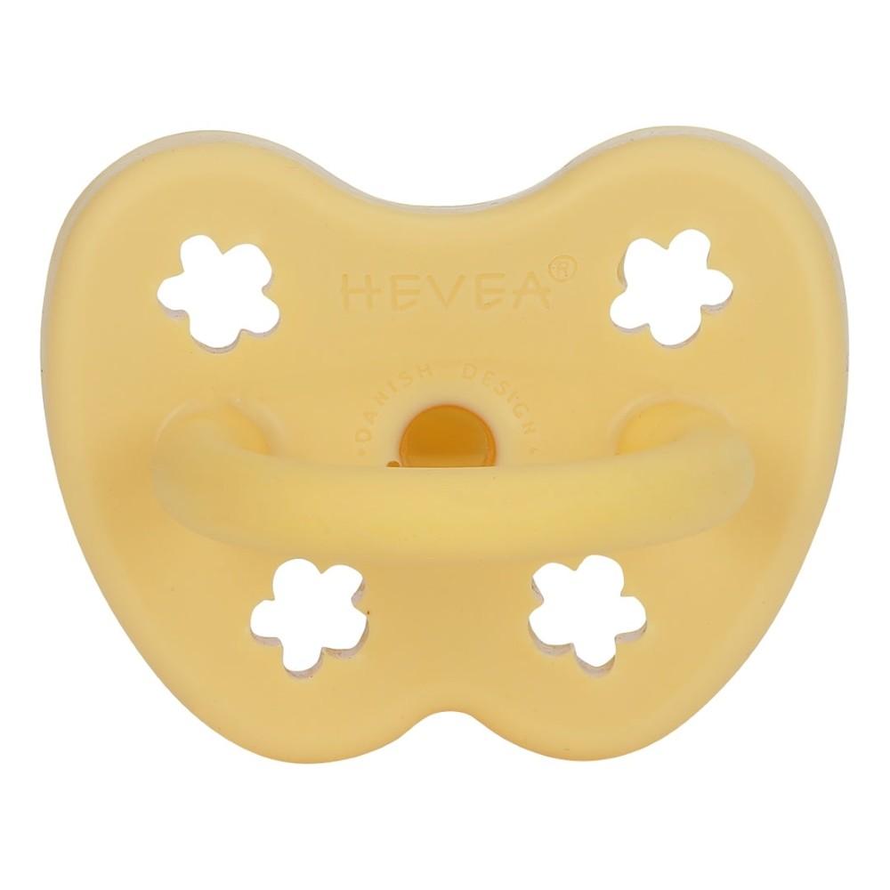 Ορθοδοντική πιπίλα σε κίτρινη απόχρωση 3-36 μηνών - Hevea
